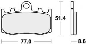 REMBLOK 796HS BRAKE PADS SINTER