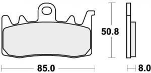 REMBLOK 900DC BRAKE PADS ORGANIC RACING