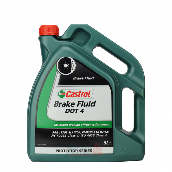 BRAKE FLUID DOT 4 5LTR