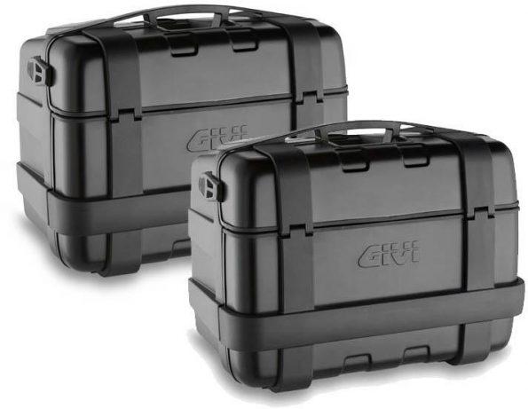 GIVI TRK46BPACK2- SIDE-CASE 46 LT BLK SET L+R