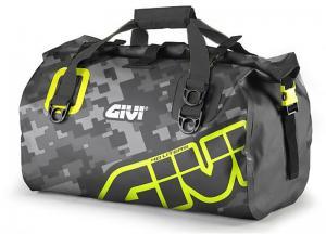 GIVI EA115CM- WATERPROOF CYLINDER SEAT BAG GREY YELLOW