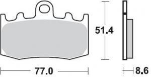 REMBLOK 892 CM55 BRAKE PADS SINTERED