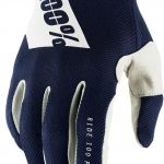 100% RIDEFIT GLOVES NAVY
