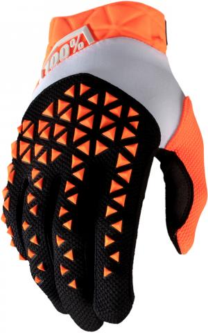 100% AIRMATIC GLOVE ORANGE/BLACK