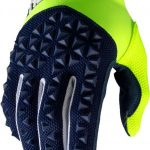 100% AIRMATIC GLOVE NAVY/FLUO YELLOW